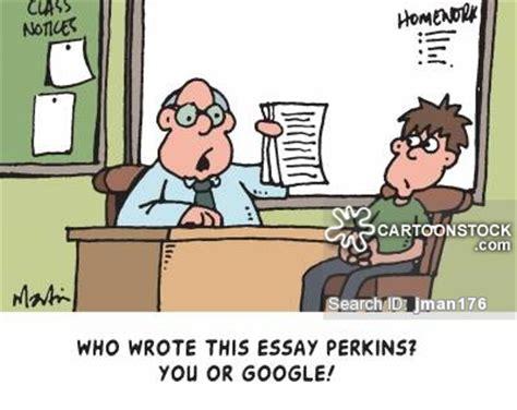 Teacher marked essays